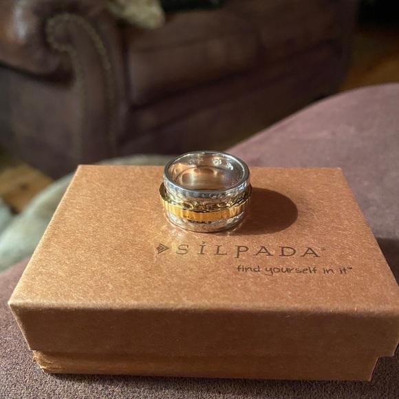 NWOT Silpada Spinner Ring